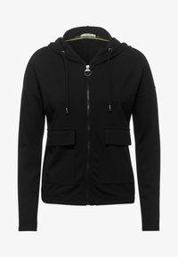 Cecil - MIT TASCHEN - Zip-up hoodie - schwarz - 3