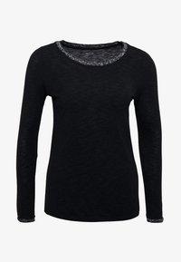 Esprit - Top sdlouhým rukávem - black - 3