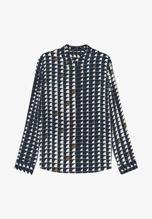 Zameru - Button-down blouse - bleu