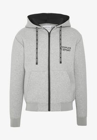 The Kooples - veste en sweat zippée - grey - 4