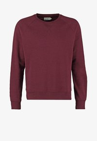 Pier One - Sweatshirt - bordeaux melange