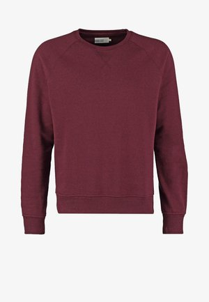 Sweatshirt - bordeaux melange