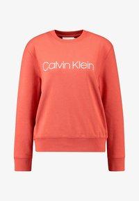 Calvin Klein - CORE LOGO - Sweatshirt - brown - 4