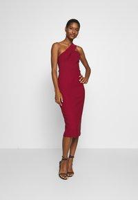 Trendyol - Vestido de cóctel - burgundy - 1