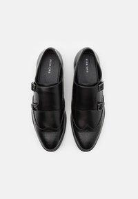 Pier One - Elegantní nazouvací boty - black - 3