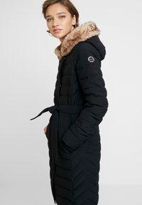 Abercrombie & Fitch - LONG PARKA - Down coat - black - 4