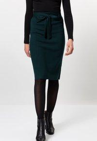 zero - Pencil skirt - dark green - 0