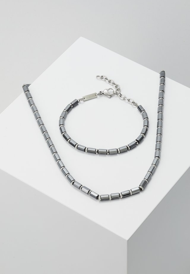 KRYPTON GIFT SET - Collar - silver-colouored