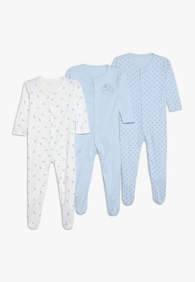 BABY SLEEPS 3 PACK - Pyjama - blue