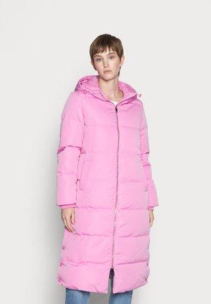 LONG COAT - Down coat - fuschia pink