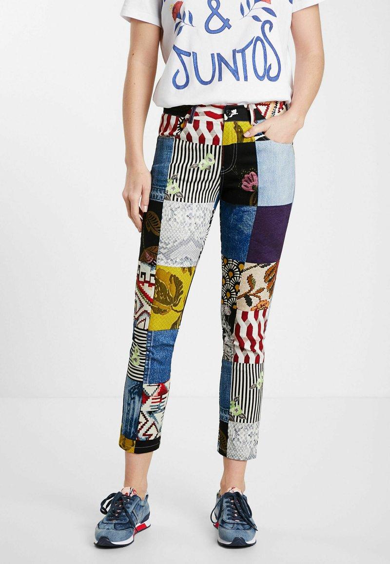 Desigual - Slim fit jeans - blue