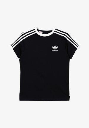 STRIPES  - Camiseta estampada - black/white