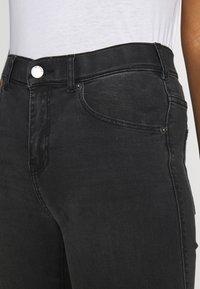 Dr.Denim - LEXY - Jeans Skinny Fit - off black destroy - 4