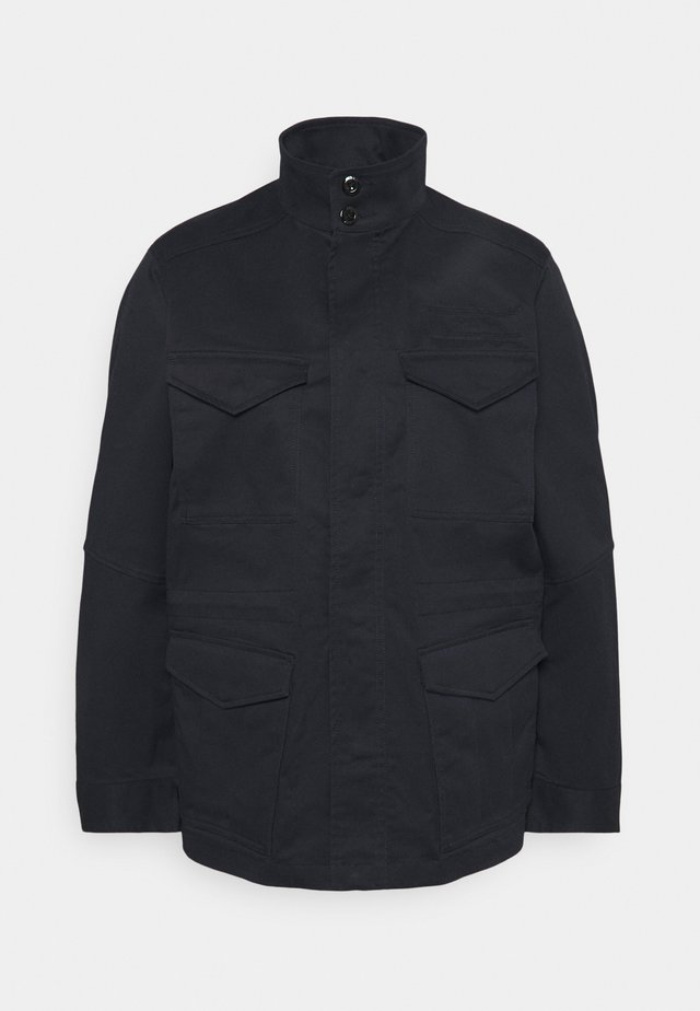 FIELD OVERSHIRT WMN - Summer jacket - mazarine blue