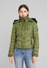 Superdry - 3 IN 1 JACKET - Light jacket - four leaf clover - 0