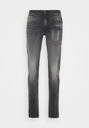 ANBASS - Vaqueros slim fit - dark grey