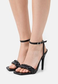 RAID Wide Fit - WIDE FIT JUDY - Sandalias - black - 0