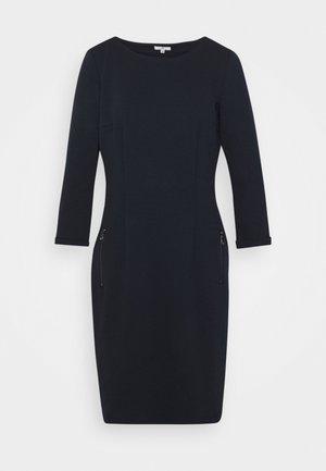 DRESS WITH ZIPPER - Day dress - sky captain blue