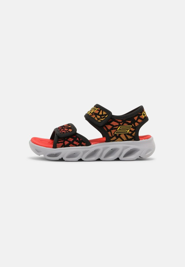 HYPNO SPLASH - Sandals - black/red