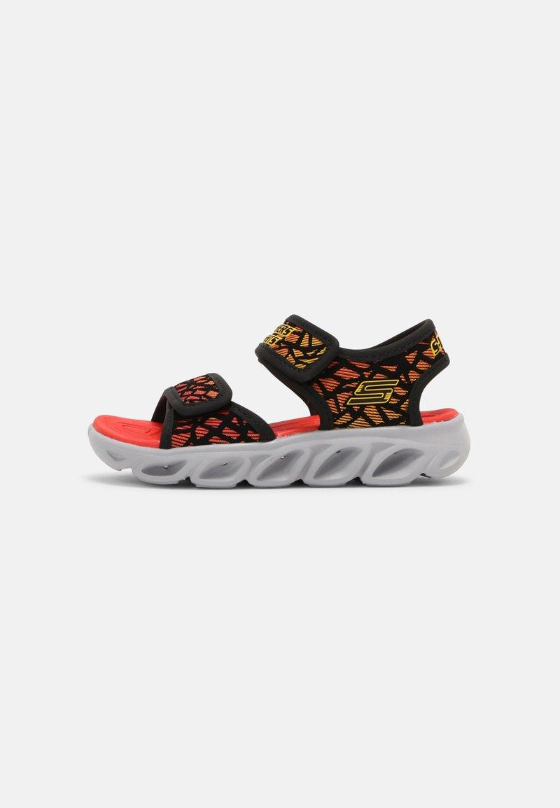 Skechers - HYPNO SPLASH - Sandals - black/red