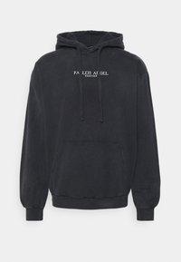Kaotiko - SUD CAP FALLEN - Sweater - black acid wash - 0