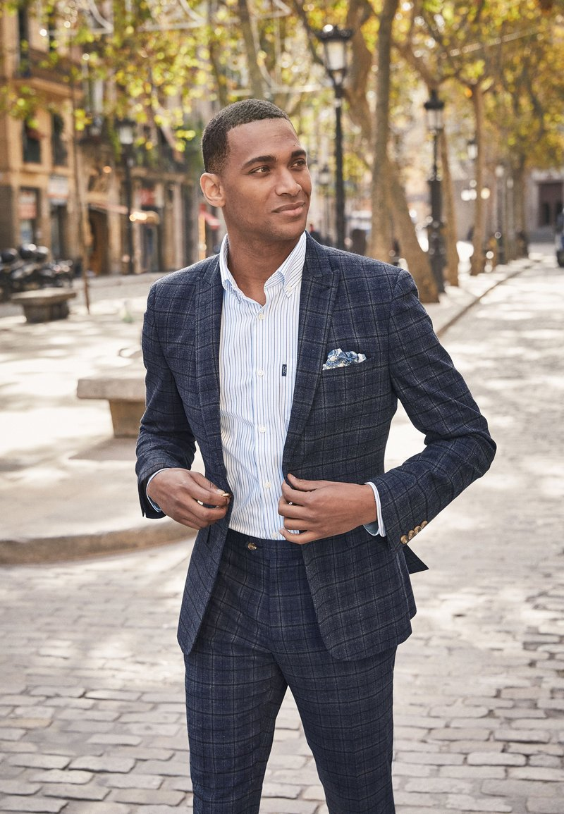 Next - Suit jacket - blue