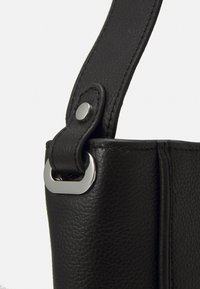 Zign - LEATHER - Tote bag - black - 3