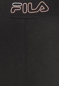 Fila - JACY 7/8 - Leggings - black/bright white - 5