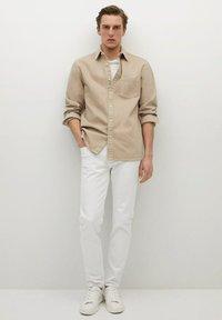 Mango - JAZZ - Shirt - beige - 1