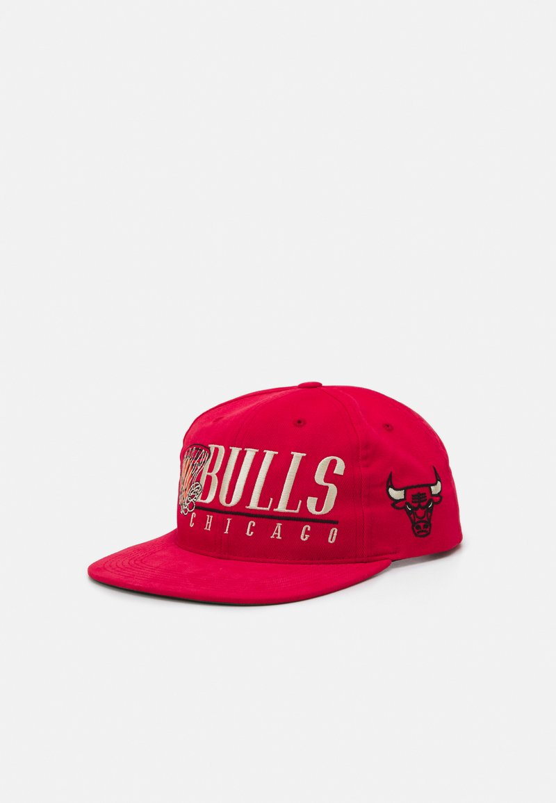 Mitchell & Ness - CHICAGO BULLS VINTAGE HOOP - Casquette - red