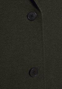 TOM TAILOR - Classic coat - dark rosin green - 2
