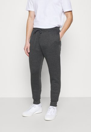 Tracksuit bottoms - charcoal/jet black