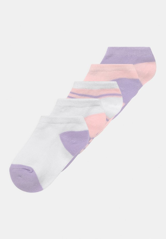 ANKLE 5 PACK - Socks - pink/white/lilac