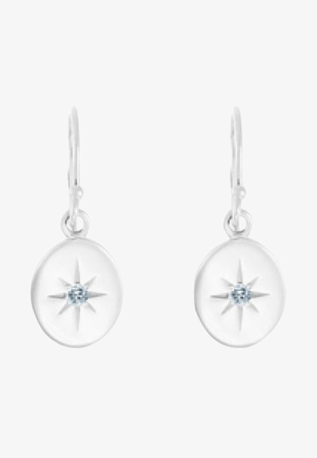 GUIDING STAR - Earrings - silver-coloured