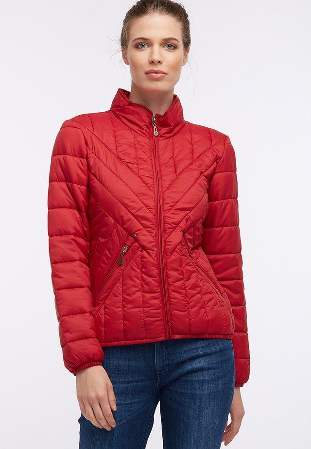 Light jacket - dunkelrot
