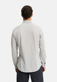 WE Fashion - SLIM FIT - Camicia - light grey - 2