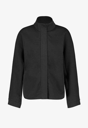 GEWIRKE - Fleece jacket - schwarz