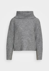 ROLL NECK JUMPER - Trui - mottled grey