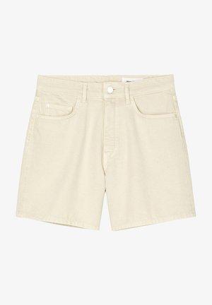 Denim shorts - multi/unbleached