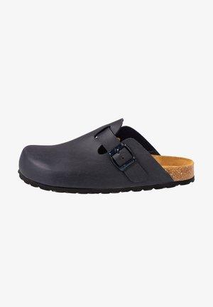 KIEL - Clogs - blue/blue//black/black