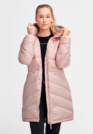 Down coat - powder rose