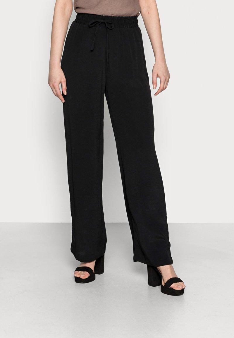Opus - MIKALI - Trousers - black