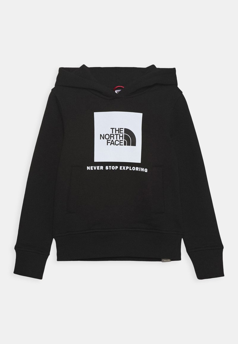 The North Face - BOX HOODIE UNISEX - Mikina - black/white