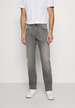REGULAR - Džíny Straight Fit - grey denim