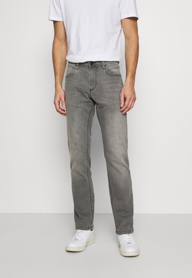 REGULAR - Džíny Straight Fit - grey denim
