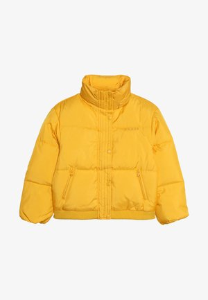 JUNIOR OVERSIZE BOMBER JACKET  - Winter jacket - gold rush yellow