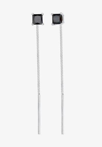 MINIMAL LOOK - Earrings - schwarz