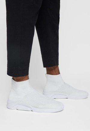 BANNER - High-top trainers - white