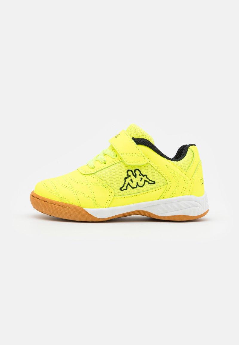 Kappa - DAMBA UNISEX - Sports shoes - yellow/black