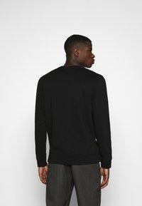 Abercrombie & Fitch - ICON CREW - Sweatshirt - black - 2